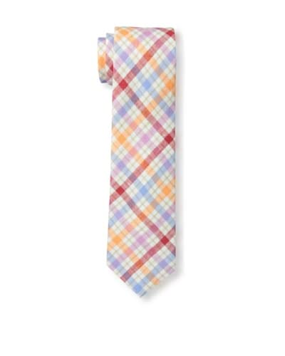 Gitman Men's Multi Plaid Tie, Multi