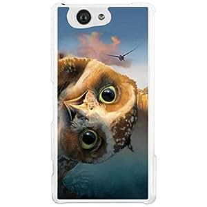 a AND b Designer Printed Mobile Back Cover / Back Case For Sony Xperia Z4 Mini (SON_Z4_MINI_2908)