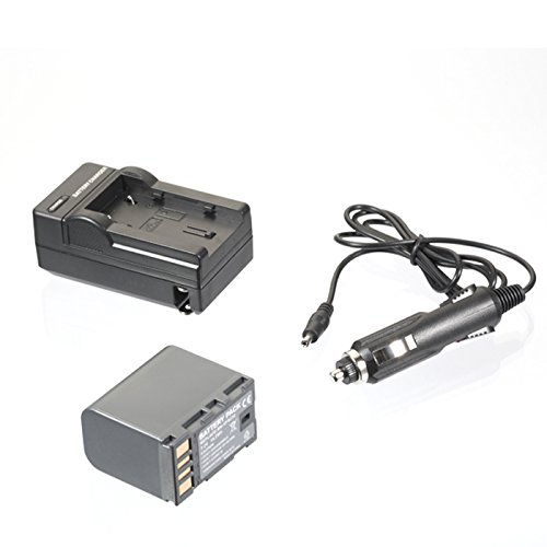 Sib'S Battery&Charger For Jvc Everio Gz-Hd10Us Gz-Hd5Us Gz-Mg150Us Gz-Mg330A Gz-Mg340B Gz-Ms120B