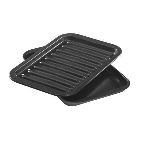 Nordic Ware Nonstick Broiler Pan Set (Small Broiler Pans For Ovens compare prices)