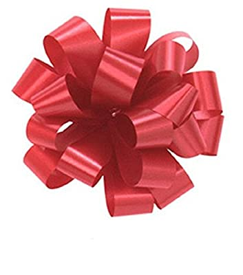 Pom Pom - Pull Out Bows 5 Inch White