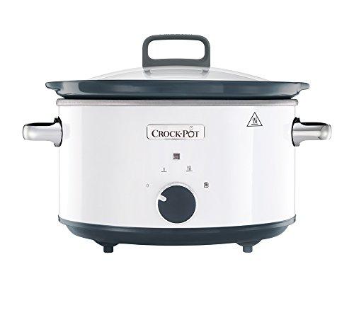 Crock-Pot-CSC030X-weier-Schongarer-35-L