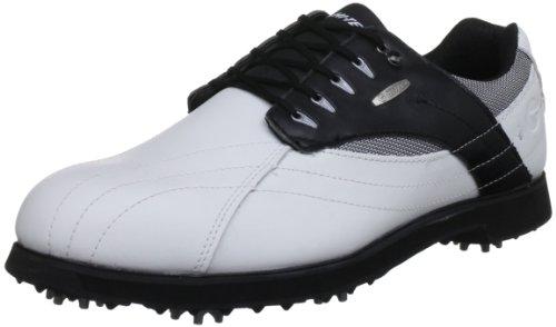 Hi-Tec Golf Dri-tec G300 G001786/012/01, Herren Golfschuhe, Weiß (White/Black), 41 EU / 7 UK