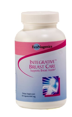 EcoNugenics Integrative Breast Care, 560 mg, 60 Capsules