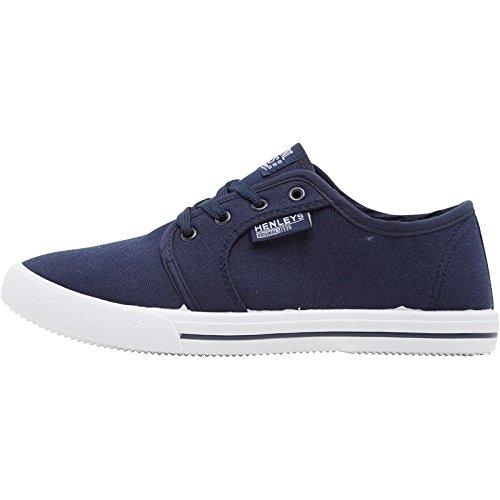 mens-designer-henleys-canvas-shoes-lace-up-pumps-trainers-plimsoles-footwear-4-colours