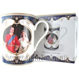 Royal Wedding Bone China Mug