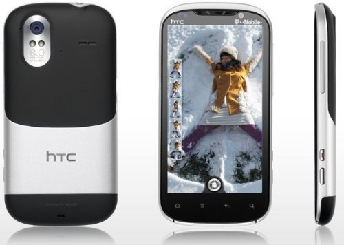 HTC Amaze X715E Black/Silver 16GB - Gingerbread Android With HTC Sense - Factory Unlocked GSM - 8MP ..