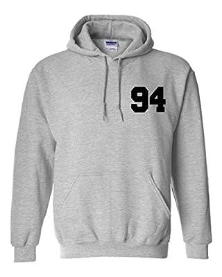 Justin Bieber 94 Unisex Mens Womens Hoodie Sweatshirt Jumper Pullover
