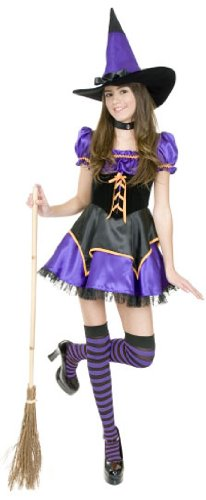 Teen Midnight Witch Halloween Costume (Size: 3-5)