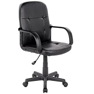Miadomodo bds21 sedia ufficio girevole casa e for Sedia da ufficio amazon