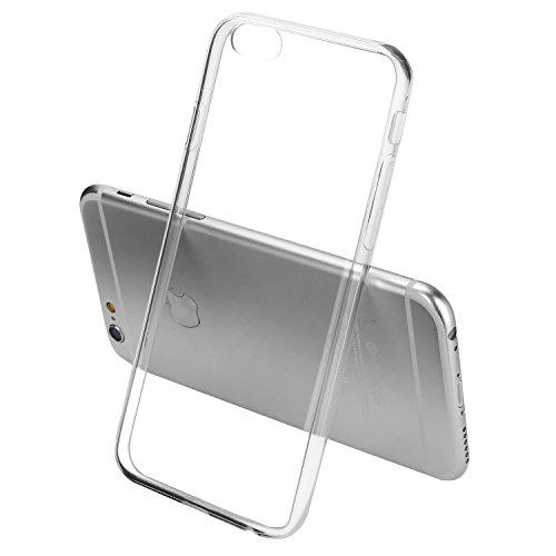 Coque iPhone 6s, Bestwe Coque de protection en silicone et TPU pour iPhone 6s (iPhone 6s, transparent)