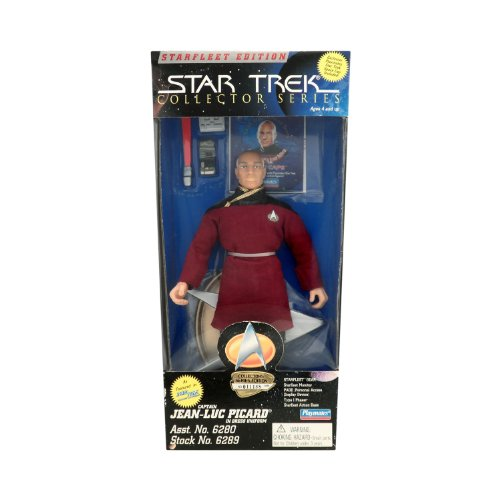 Starfleet Edition Star Trek Collector Series 9 Inch Captain Jean Luc Picard in Dress Uniform - 1