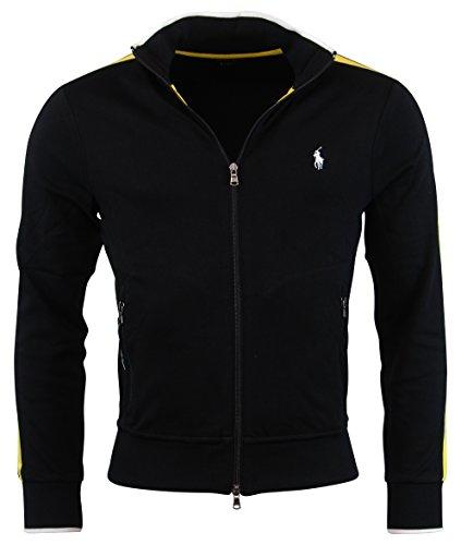 Polo Ralph Lauren Men's Performance Track Jacket, Black, Large