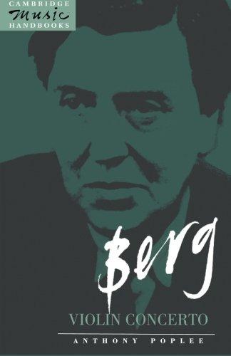 Berg: Violin Concerto Paperback (Cambridge Music Handbooks)