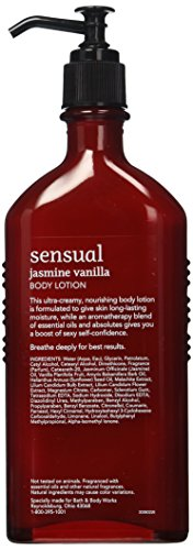 Bath Amp Body Works Aromatherapy Jasmine Vanilla Body Lotion