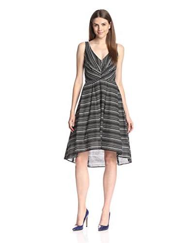 Eva Franco Women's Zander Fit-and-Flare Stripe Dress