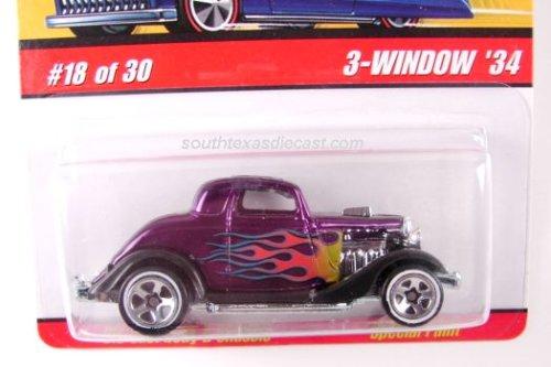 Hot Wheels Classic 3-window '34 Die-cast Car J2774 #18