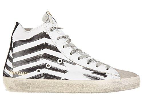 Golden-Goose-zapatos-zapatillas-de-deporte-largas-hombres-en-piel-nuevo-francy-b