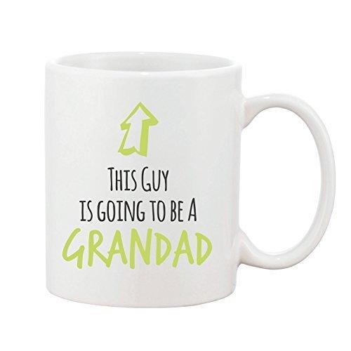 Grandad den Tasse Baby Neuheit Geschenk Tasse Keramik Steingut This Guy Design