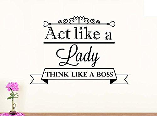Think Like A Cat Lady Act Like A Boss Mug