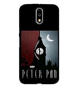 EPICCASE Peter Pan Mobile Back Case Cover For Moto G4 / G4 Plus (Designer Case)