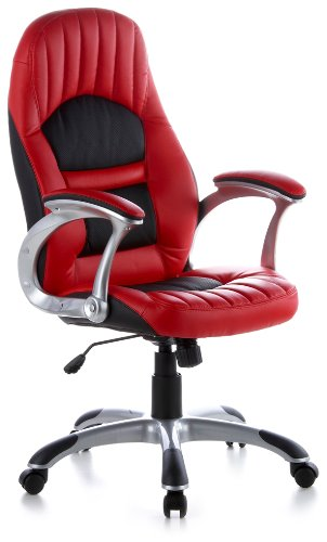 Executive chair office chair RACER 200 art leather red / black (THE ORIGINAL ONE)