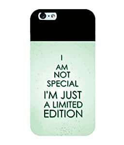 printtech Cool Quotes Back Case Cover for Apple iPhone 6S