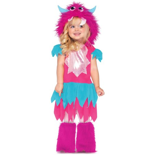 Wmu - Sweetheart Monster Toddler Costume- Small 2T-3T