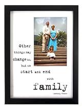 Family Black Wooden 9