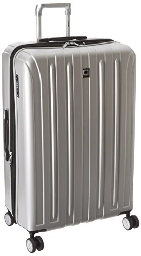 Delsey Luggage Helium Titanium 29 Inch EXP Spinner Trolley, Silver, One Size (Delsey Luggage Helium Trolley compare prices)