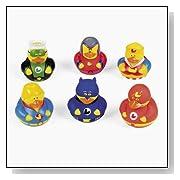Super Hero Rubber Duck