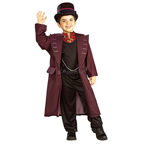 [Rubies 884807 Willy Wonka Childs Costume - Willy Wonka - Medium - 5-7 Yrs] (Child Willy Wonka Costumes)
