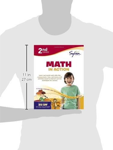 2nd Grade Math in Action (Sylvan Workbooks)