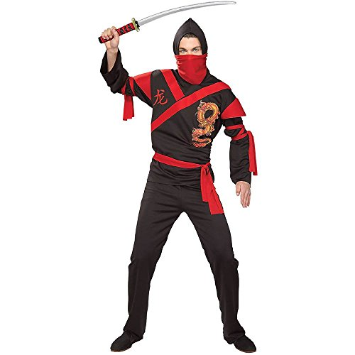 Dragon Ninja Warrior Adult Costume - Standard