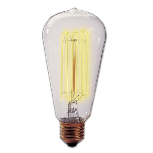 Bulbrite 134019 40W Nostalgic Edison Squirrel Cage-style Bulb photo