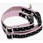 犬の首輪 フレンチカラー SM ブラック lamzy ラムジー
