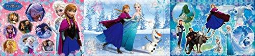 45ピース 子供向けジグソーパズル アナと雪の女王 アナとエルサ パノラマパズル
