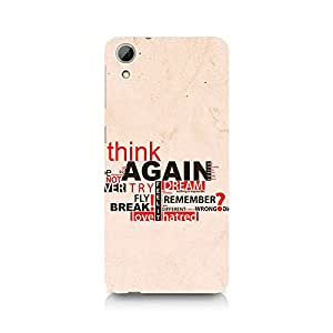 TAZindia Designer Printed Hard Back Case Mobile Cover For HTC Desire 820