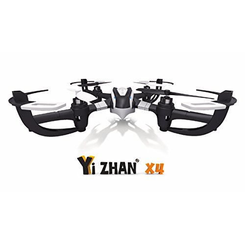 Yi Zhan X4 6 Axis 2.4G Rc Quacopter With Lcd Transmitter Rtf,Gold & Black, Mode 2 Left Hand Throttle