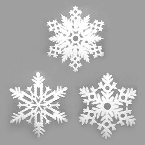 SNOWFLAKE(スノーフレーク) Sサイズ 3ピース#104 Japan/クリスマス 窓 飾り