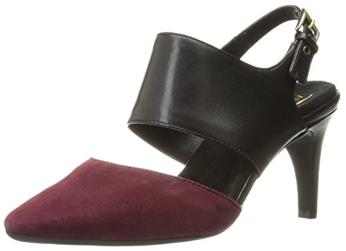 Aerosoles Women's Exit Lane Dress Pump, Wine Combo, 9 M US