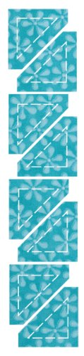 Accuquilt Go Fabric Cutting Dies It Fits Half Square, 1-Inch Finished Triangle front-164910