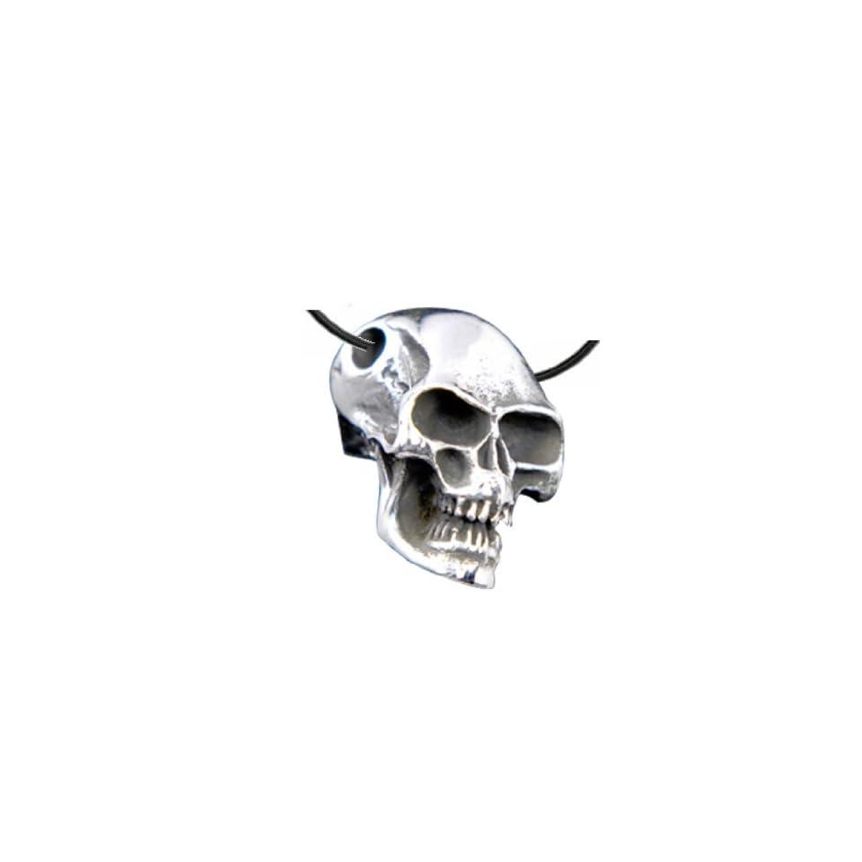 Anhänger Jolly Roger Pirat Totenkopf 925er Silber Schmuck