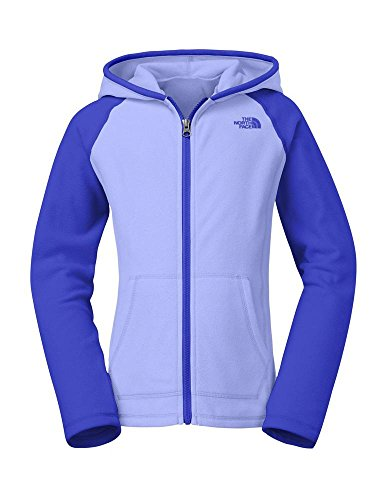 The North Face Glacier Full Zip Hoodie Girl'S Dynasty Blue M