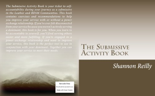 the-submissive-activity-book-english-edition