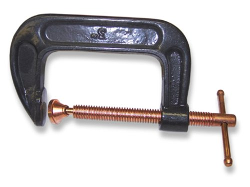 Us forge welding malleable iron c clamp inch new