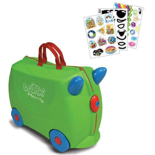 Trunki Luggage and 3-pack Stickers