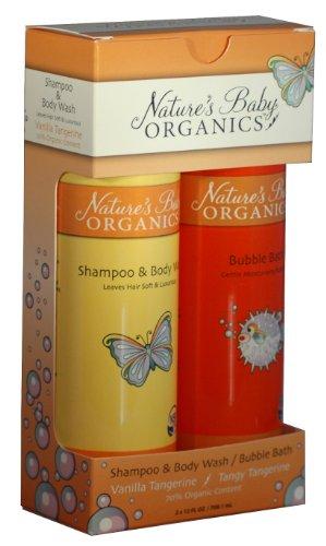 Natures Baby Organics Vanilla Set, Vanilla Tangerine, 12 fl. oz. Each