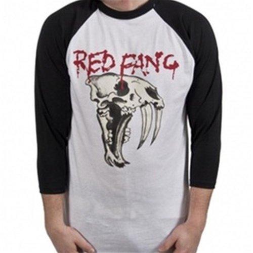 Red Fang Black Baseball Raglan T-Shirt