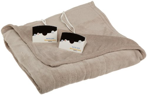 Biddeford Poly Knit MicroPlush Heated Blanket